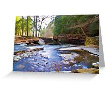 Peaceful Bridge Greeting Card