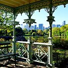 Central Park New York, Wedding Gazebo, View on Manhattan by coralZ