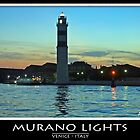 Murano lights by Angelo Vianello
