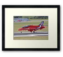 Single Arrow Touchdown - Farnborough 2014 Framed Print