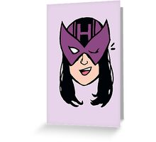 kate bishop hawkeye marvel young avengers Greeting Card