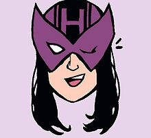 kate bishop hawkeye marvel young avengers by captainkittyspa