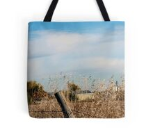 Fall Fields and Fences Tote Bag
