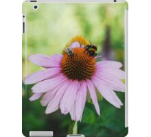 Echinacea Purpurea with Bees 2 iPad Case/Skin