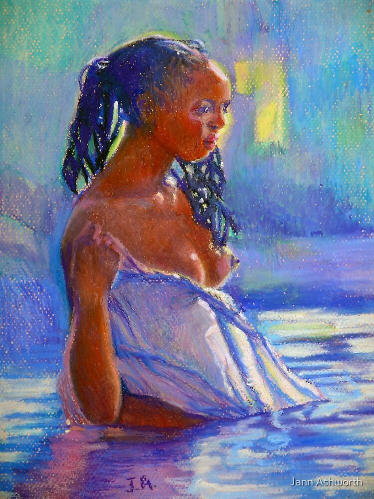 Lady In Blues by Jann Ashworth