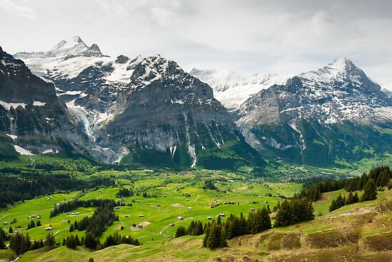 Grindelwald in Spring by peterwey