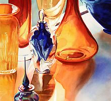 """Lightfast"" Art Glass Watercolor by Paul Jackson"