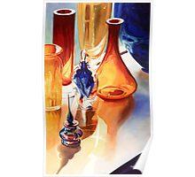 """Lightfast"" Art Glass Watercolor Poster"