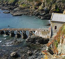 The Old Lizard Lifeboat Station. by GCAPARO