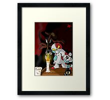 Just a magic Trick Framed Print