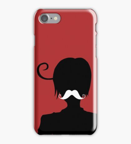 """Romano and his """"Moostache"""" iPhone Case/Skin"""