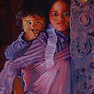 Tibetan Brother and Sister by Jann Ashworth