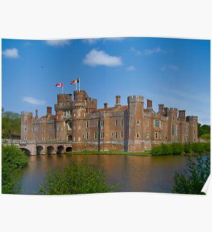 Herstmanceux castle-East Sussex Poster
