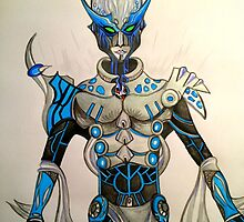 Future Robotics - Vrak - P.Rangers by jonkania