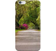 Magnolia Plantation Driveway iPhone Case/Skin
