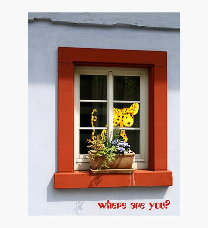 Where are you? Photographic Print