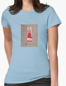 Red Queen T Womens Fitted T-Shirt