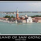 San Giorgio Island by Angelo Vianello