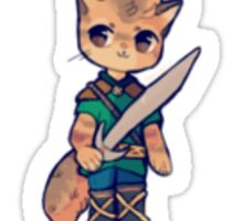 I am Sabre, knight from the planet Animus! Sticker