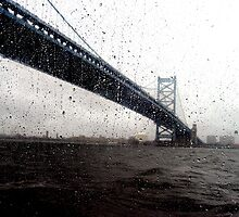 Benjamin Franklin Bridge by JamieLA