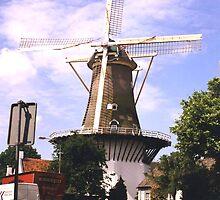 A Dutch Windmill by Brunoboy