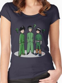 Green: The Colour of Originality Women's Fitted Scoop T-Shirt