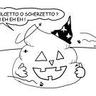 VITA E AVVENTURE DI PICCOLE MERDE - Halloween by CLAUDIO COSTA