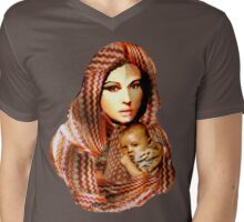 Lady Madonna T Mens V-Neck T-Shirt