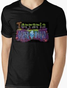 Terraria 2 Mens V-Neck T-Shirt
