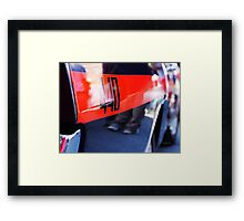 440 Muscle Framed Print