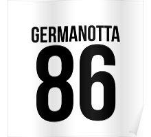 'GERMANOTTA 86'  Poster
