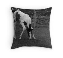 Bendy legs ;) Throw Pillow