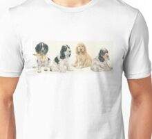 English Cocker Spaniel Puppies Unisex T-Shirt