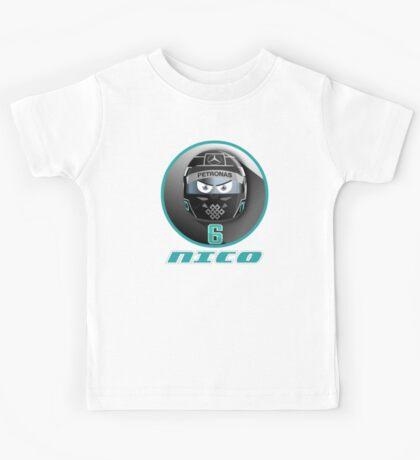 Nico ROSBERG_2015_Helmet #6 Kids Tee