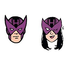 clint barton hawkeye kate bishop avengers mavrel by captainkittyspa