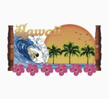 Hawaiian Surfing by BailoutIsland
