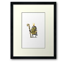 The large wizard of the Bees Framed Print