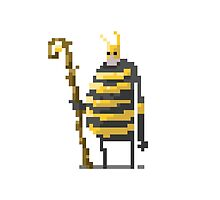 The large wizard of the Bees by lrtvri