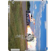 fire breathing jet semi iPad Case/Skin
