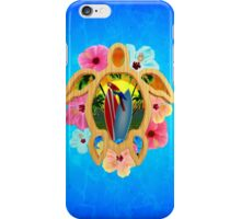 Hawaiian Surfboard Sunset iPhone Case/Skin