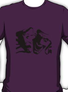 Tragedy/Comedy - Theatre - BLACK T-Shirt
