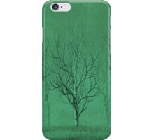 Winter Trees in the Mist iPhone Case/Skin
