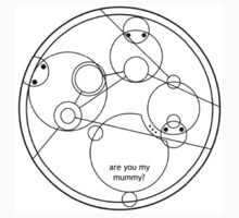 Are you my mummy? - circulae gallifreyan One Piece - Short Sleeve