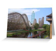 El Toro, Six Flags Great Adventure Greeting Card