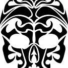 Tribal Skull by shpshift