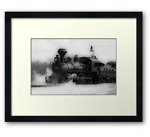 Steam Engine #3 - Prairie Dog Central Railway Framed Print