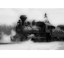 Steam Engine #3 - Prairie Dog Central Railway Photographic Print