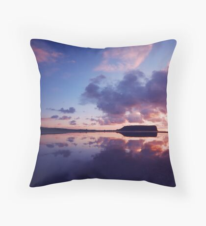 East Inlet Reflections #2 Throw Pillow