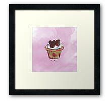 Wildberries Cupcake Framed Print