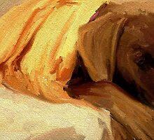 Ella Painting by lizwaltzes